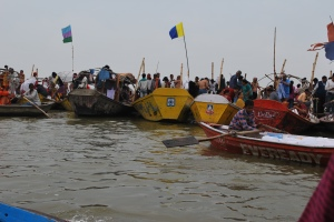 Dip in Prayag during the mahakumbh 2012