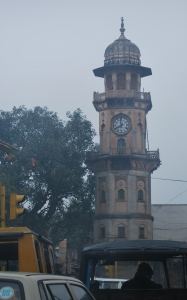 TIP look for the clock tower in Indian towns