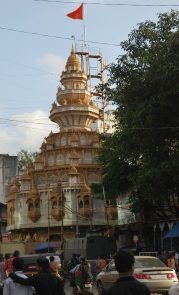 Golden temple dedicated to Lord Ganesha