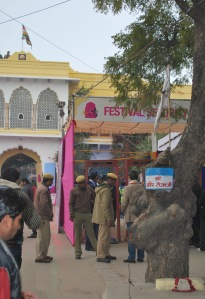 Main entry gate of Diggi palace