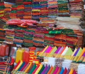 handwoven textiles in shanivada