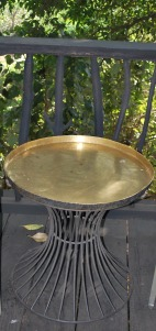 the tradiotal indian thaali converted into a table