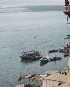 Transporting mankind to the next world: The Holy Ganges