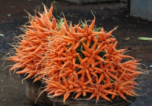 A bouquet of... CARROTS