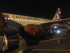 Is it Czech... no its Spice Jet