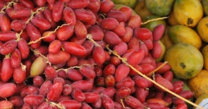 Red dates and Mangoes