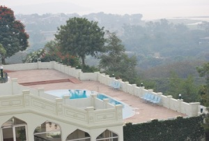 view of pool and bhopal