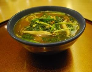 final course of noodles