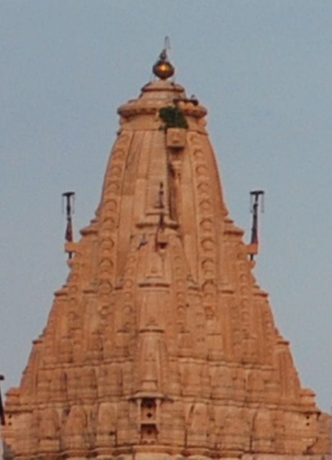 The Spire of the Jagdish Temple
