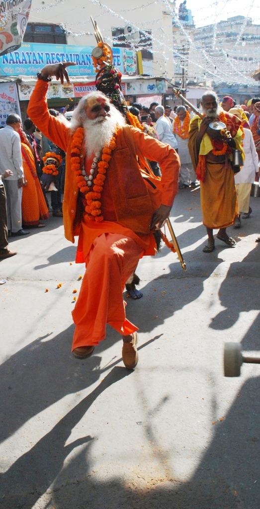 Saffron Dance