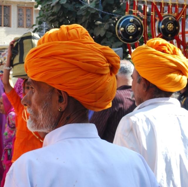 saffron turbans