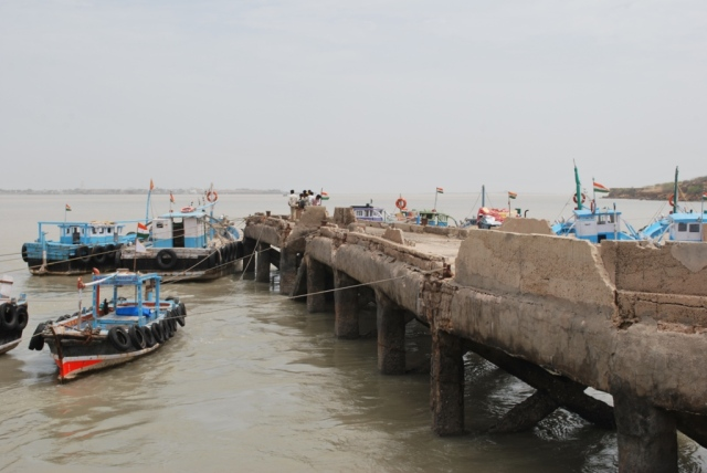 Jetty at Beyt dwarka
