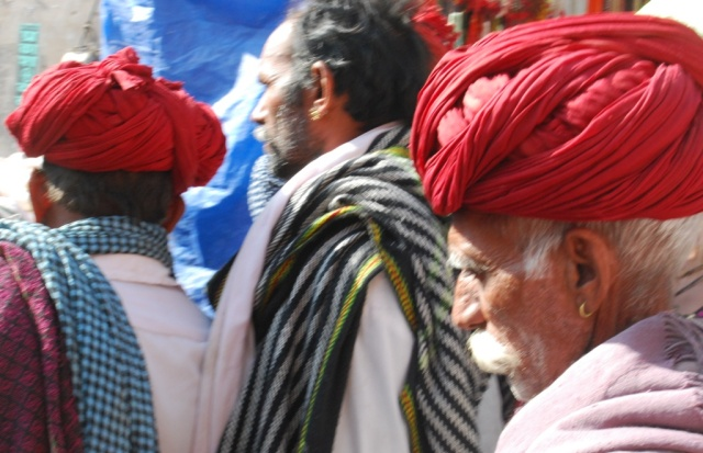 red turbans
