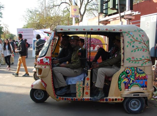 auto with elephant