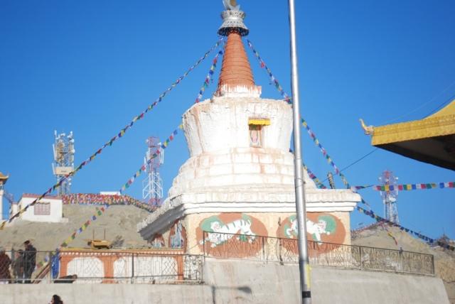 a small stupa