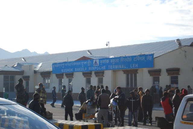 airport at leh