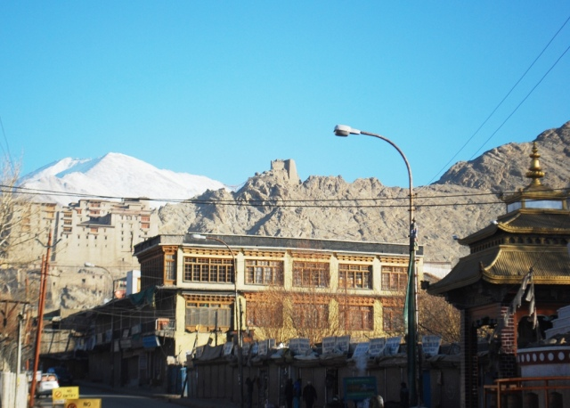 Leh palace and temple