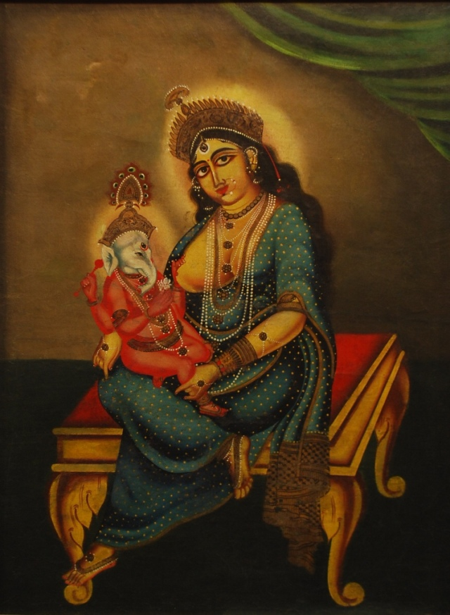 Maa and Ganeshji