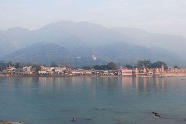 temples and the ganges